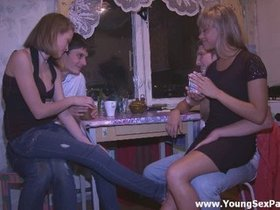 Teen orgy as therapy